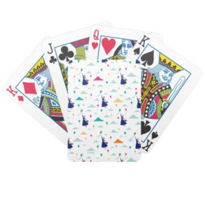 Mary Poppins | Magic Fills the Air Pattern Bicycle Playing Cards