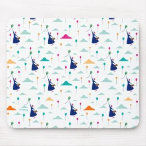 Mary Poppins | Magic Fills the Air Pattern Mouse Pad