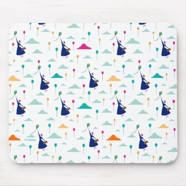Mary Poppins   Magic Fills the Air Pattern Mouse Pad