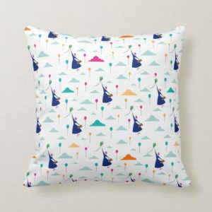Mary Poppins | Magic Fills the Air Pattern Throw Pillow