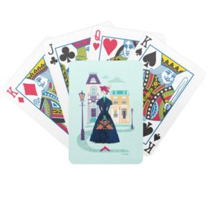 Mary Poppins | Spoonful of Sugar Bicycle Playing Cards