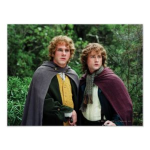 Merry and Peregrin Poster