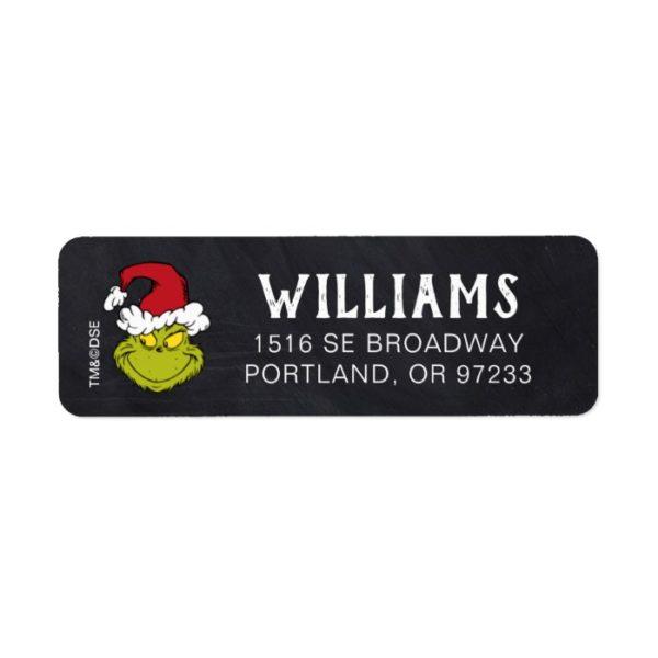 Merry Grinchmas | Grinch Holiday Label