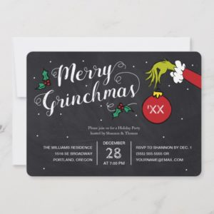 Merry Grinchmas | Grinch Holiday Party