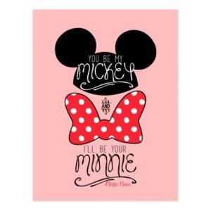 Mickey & Minnie | Love Postcard