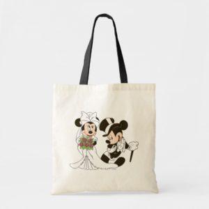 Mickey & Minnie Wedding | Getting Married Tote Bag