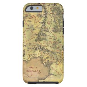 Middle Earth Map Case-Mate iPhone Case