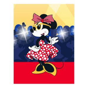 Minnie Mouse | Hollywood's Leading Lady Postcard