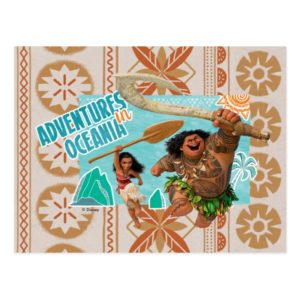 Moana | Adventures In Oceania Postcard