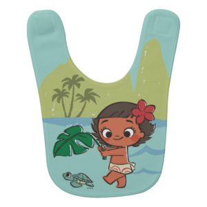 Moana | Born to be in the Sea Bib