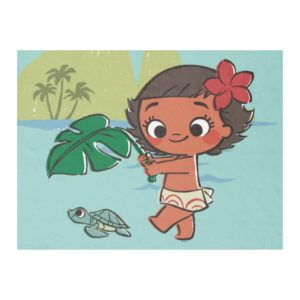 Moana | Born to be in the Sea Fleece Blanket