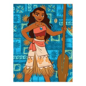 Moana | Daughter Of The Sea Postcard