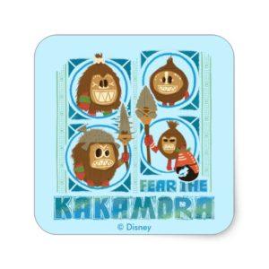 Moana   Fear The Kakamora Square Sticker
