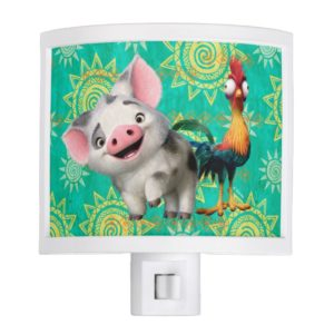 Moana | First Mate & Top Rooster Night Light