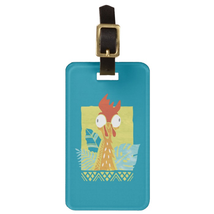 2e1dbf29e Moana | Heihei - I'm In Charge Here Luggage Tag - Custom Fan Art