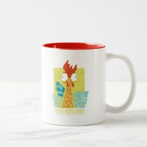 Moana | Heihei - I'm In Charge Here Two-Tone Coffee Mug