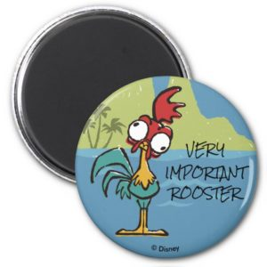 Moana   Heihei - Very Important Rooster Magnet