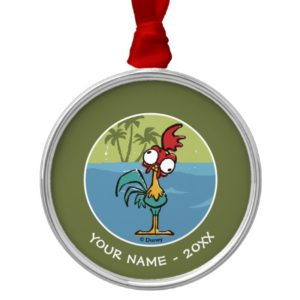 Moana | Heihei - Very Important Rooster Metal Ornament