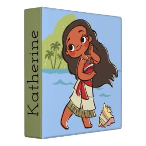Moana | Island Girl Binder