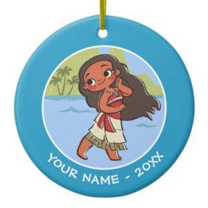 Moana | Island Girl Ceramic Ornament