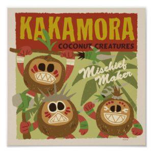 Moana | Kakamora - Coconut Creatures Poster
