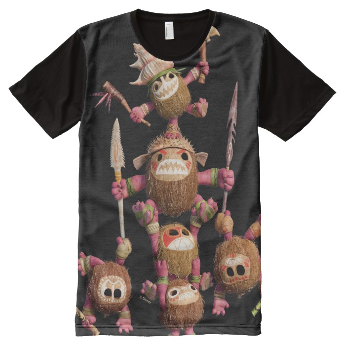 picture about Kakamora Printable identified as Moana Kakamora - Coconut Pirates All-In excess of-Print Blouse