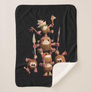 Moana | Kakamora - Coconut Pirates Sherpa Blanket
