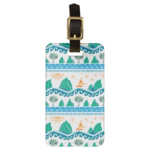 Moana   Land And Sea Are One - Pattern Bag Tag