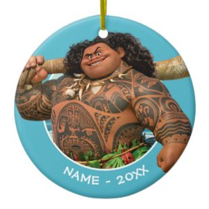 Moana | Maui - Hook Has The Power Ceramic Ornament