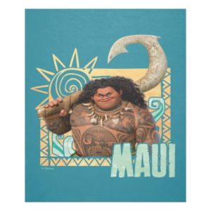 Moana | Maui - Original Trickster Fleece Blanket