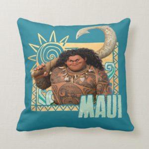 Moana   Maui - Original Trickster Throw Pillow