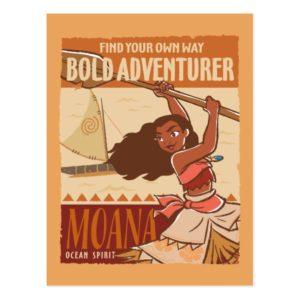 Moana   Ocean Spirit Postcard