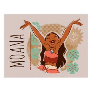 Moana | One With The Waves Postcard