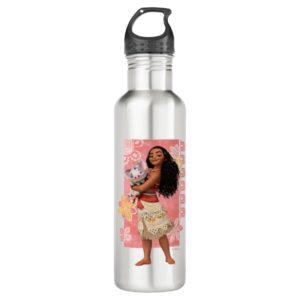 Moana   Pacific Island Girl Water Bottle