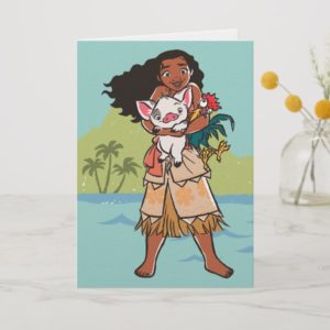 Moana | Pua & Heihei - Voyagers Card