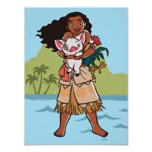Moana | Pua & Heihei - Voyagers Poster