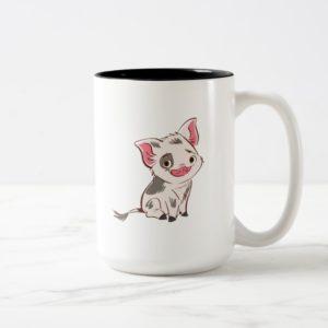Moana   Pua - I'm No Bacon Two-Tone Coffee Mug
