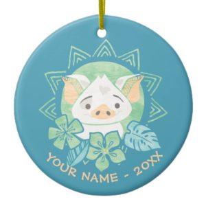 Moana   Pua - Not For Eating Ceramic Ornament