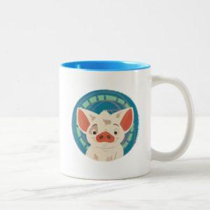 Moana   Pua The Pig Two-Tone Coffee Mug