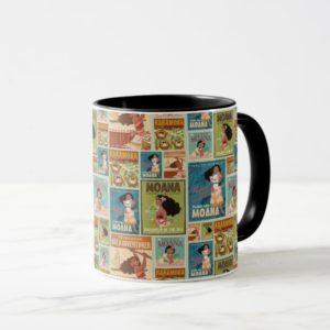 Moana | Retro Poster Pattern Mug