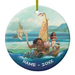 Moana | Set Your Own Course Ceramic Ornament