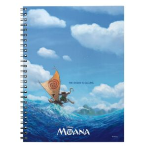 Moana   The Ocean Is Calling Notebook
