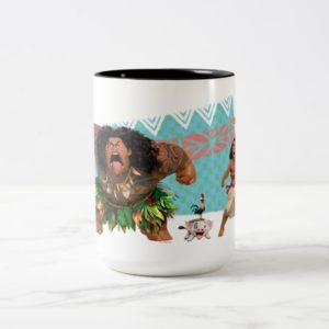 Moana | We Are All Voyagers Two-Tone Coffee Mug