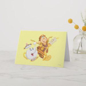 Mrs. Potts & Friends Card