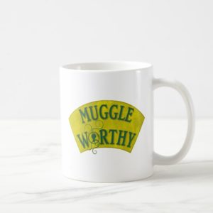 MUGGLE WORTHY™ COFFEE MUG