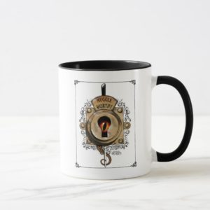 MUGGLE WORTHY™ Lock Mug