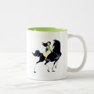 Mulan and Khan Two-Tone Coffee Mug