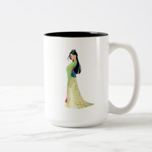 Mulan | Fearless Dreamer Two-Tone Coffee Mug