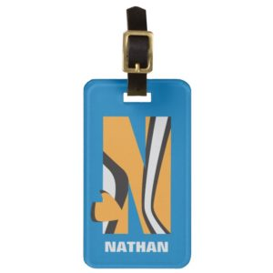 N is for Nemo | Add Your Name Luggage Tag