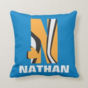 N is for Nemo   Add Your Name Throw Pillow